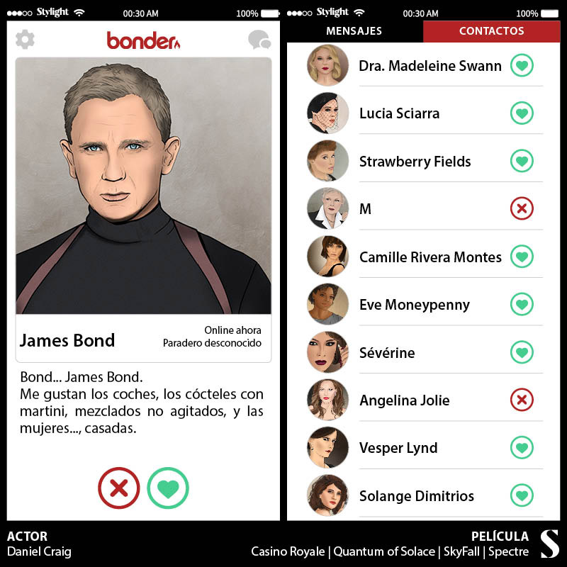 Stylight-Tinder-de-James-Bond